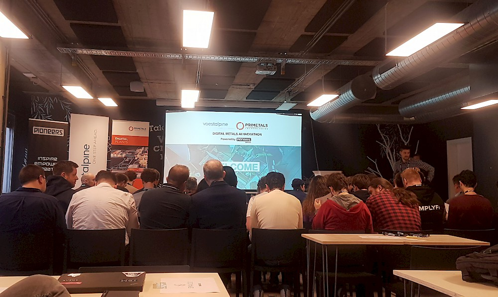 Paricipants at the Digital Metals Hackathon